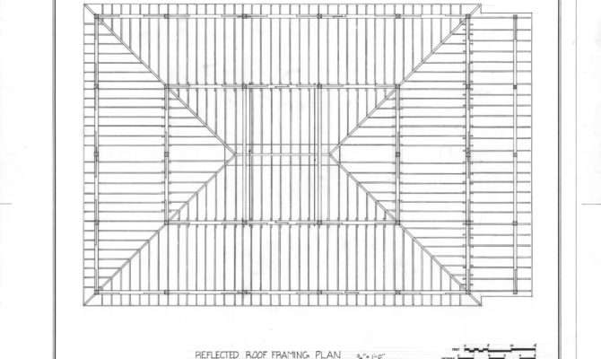 Arbor Roof Framing Plan Rock Springs Campground Lincoln County