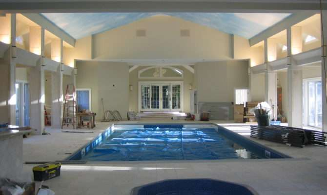 Architectural Builders Hampstead Inc Indoor Pool House