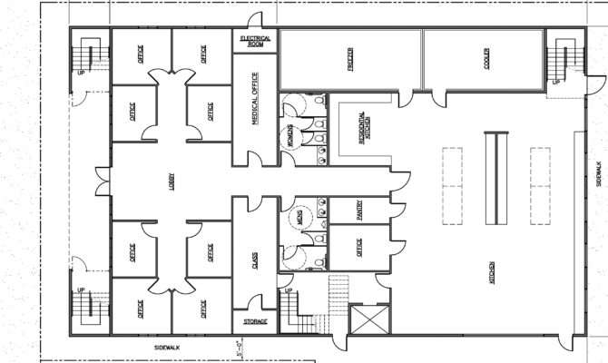 Architectural Floor Plan Home Design Ideas Interior