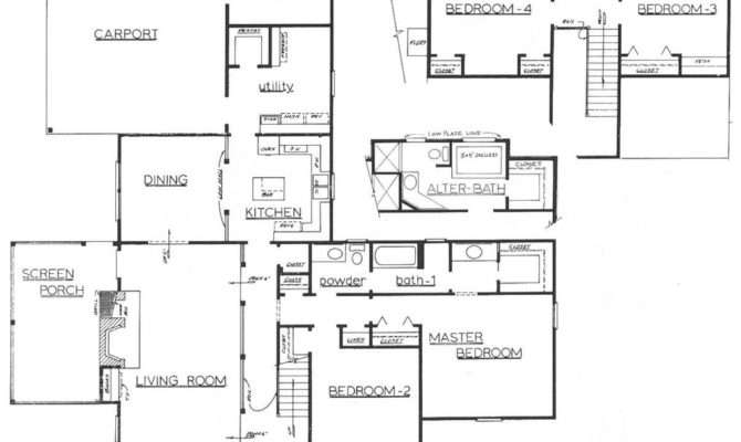 Architectural Floor Plan Sneaky Chileno Deviantart