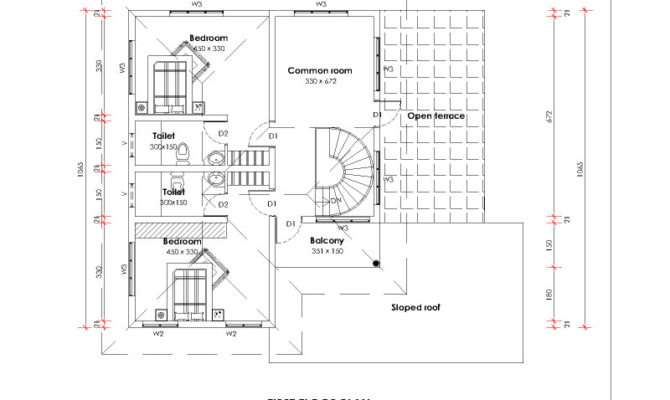 Architectural House Plans Punjab Plan
