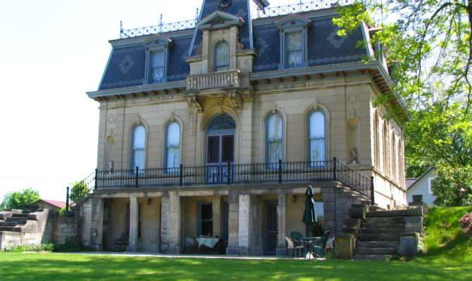 Architectural Styles Southern Indiana Second Empire