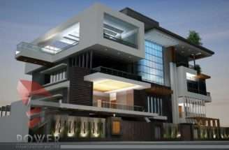Architecture Animation Ultra Modern Architectural