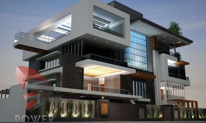 Architecture Animation Ultra Modern Architectural