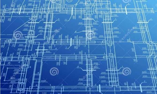 Architecture Blueprint Vector