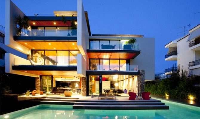 Architecture Corner South European Modern Houses
