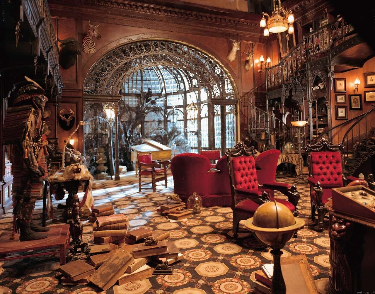 Architecture Interior Design Steampunk Victorian Haunted Mansion Steam