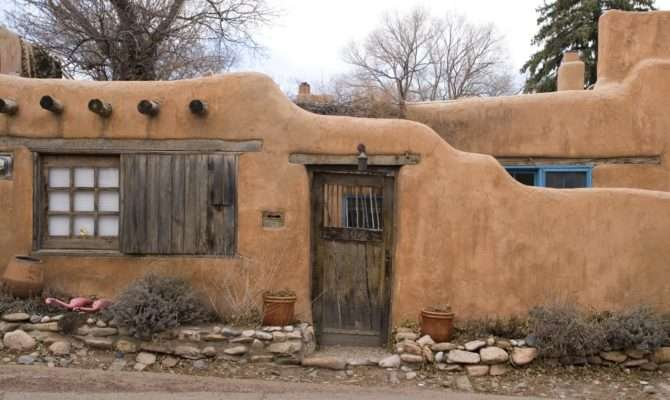 Architecture Jour New Mexico Adobe House Uncouth
