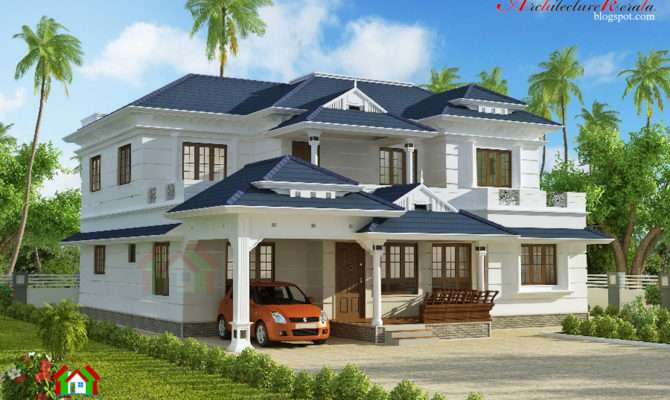 Architecture Kerala Square Feet House Plan