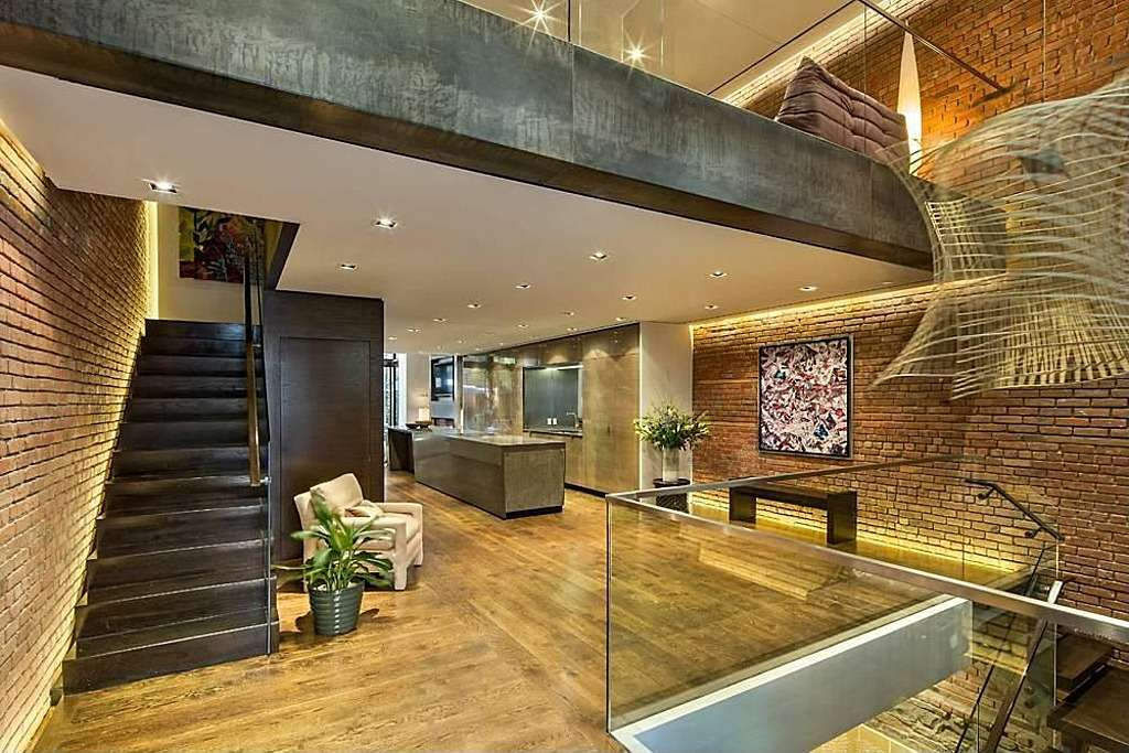 Architecture Modern Townhouse Loft Design New York City