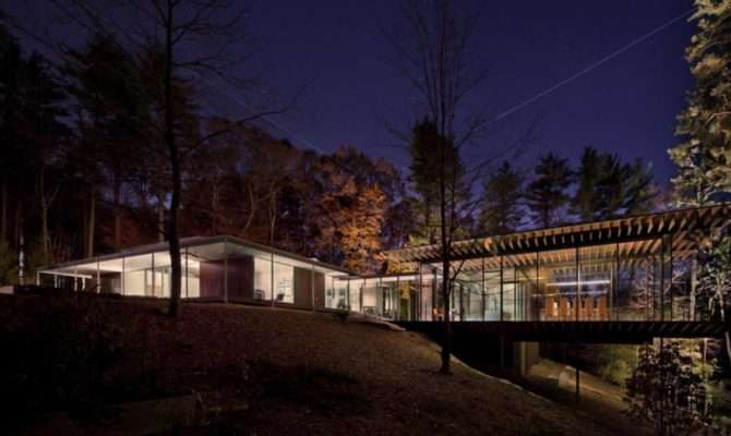 Architecture Now Future Glass Wood House Kengo