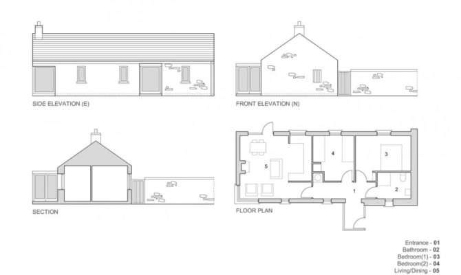 Architecture Photography House Plan