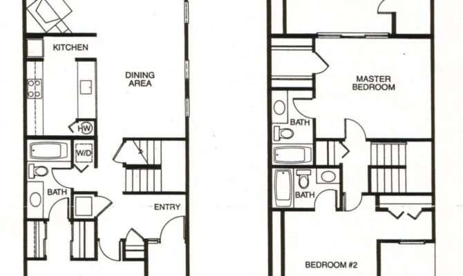 Architecture Townhouse Designs Floor Plans Homes