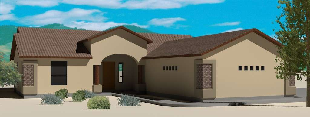 Arizona House Plans Southwest Home