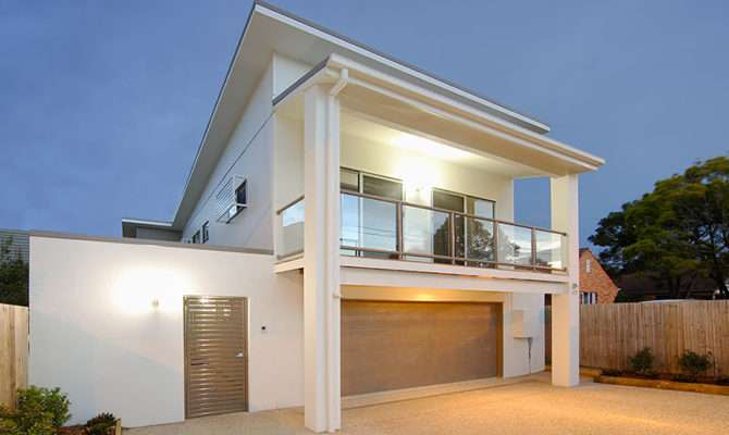 Art Decor Home Designs Gorgeous Narrow Block House Modern
