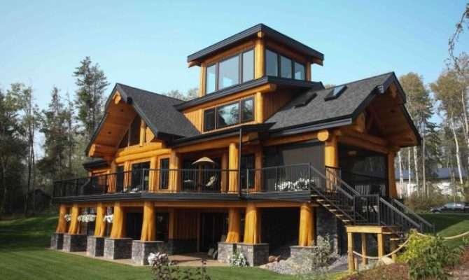 Artisan Log Homes Handcrafted Canadian Custom