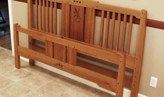 Arts Crafts Bed Finewoodworking