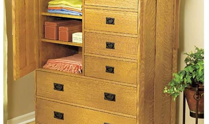 Arts Crafts Dresser Woodworking Plan Wood Magazine