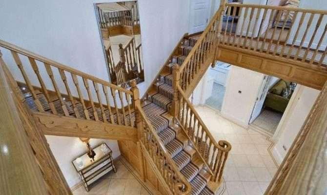 Ash Split Staircase French Farm House Ideas Pinterest