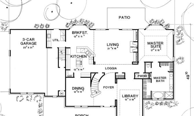Ashville House Plan Texas Style Second Floor Quotes