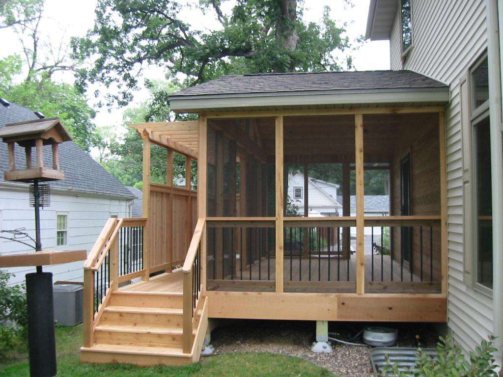 Astounding All Wooden Screened Porch Designs