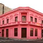 Asunci Paraguay Pink Ade Colonial Style House City Centre