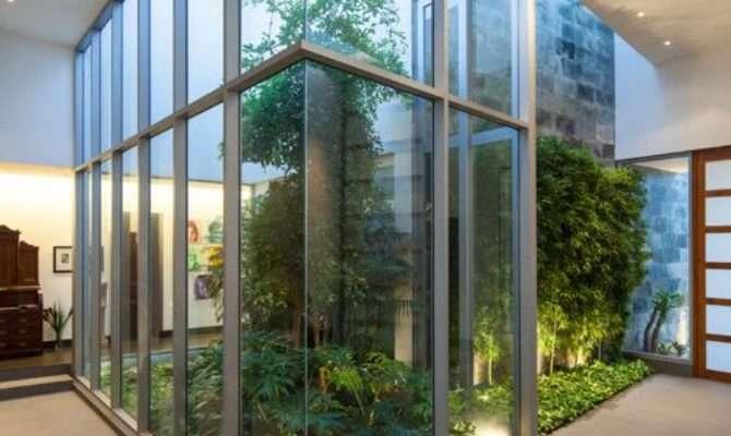 Atrium Home Design Ideas Remodel Decor