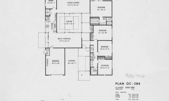 Atrium House Plans Pinterest Floor