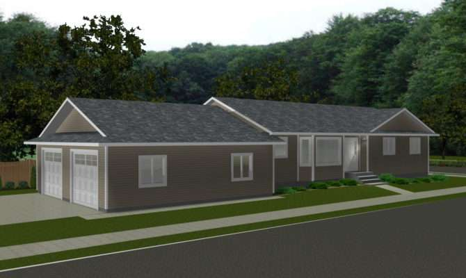 Attached Garage Plans Smalltowndjs