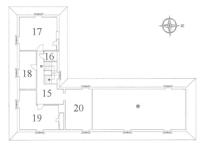 Attic Floor Plan Numbers