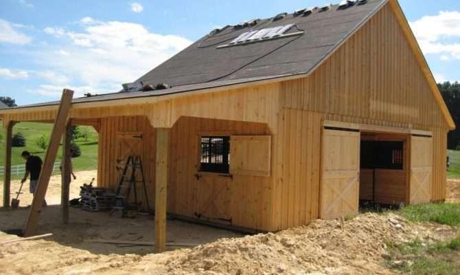Attractive Small Horse Barn Plans Ideas Yustusa
