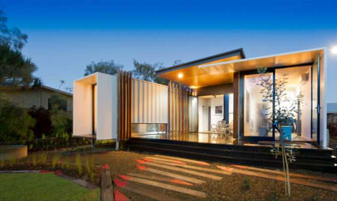 Aussie Shipping Container Home Wins Design Awards