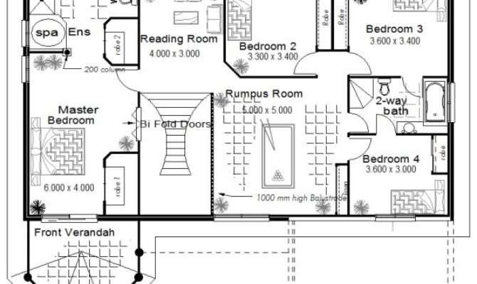 Australia Two Storey Floor Plans Large Kit Home