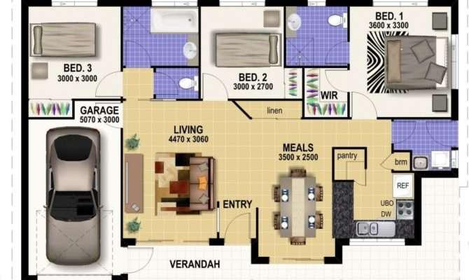 Australian Duplex Designs Small Villa Plans