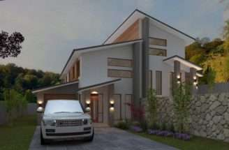 Australian Duplex Townhouse House Plans Split Level Sloping