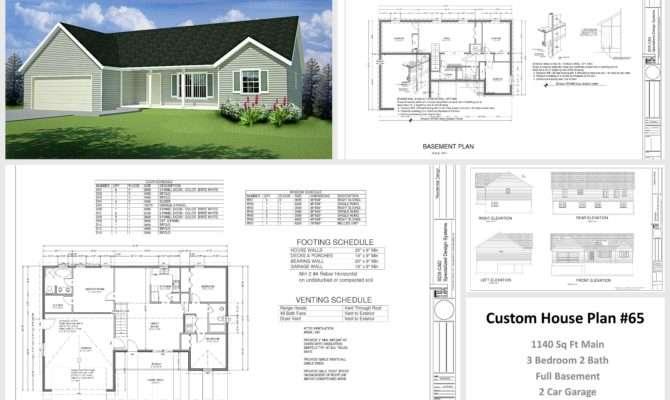 Autocad House Design Plans
