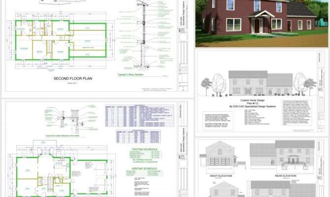 Autocad House Drawings Auto Cad Plans