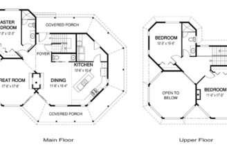Award Winning Architectural Cedar Home Plans Glenorchard