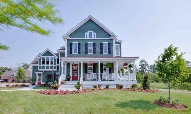 Award Winning Farmhouse Plan Architectural