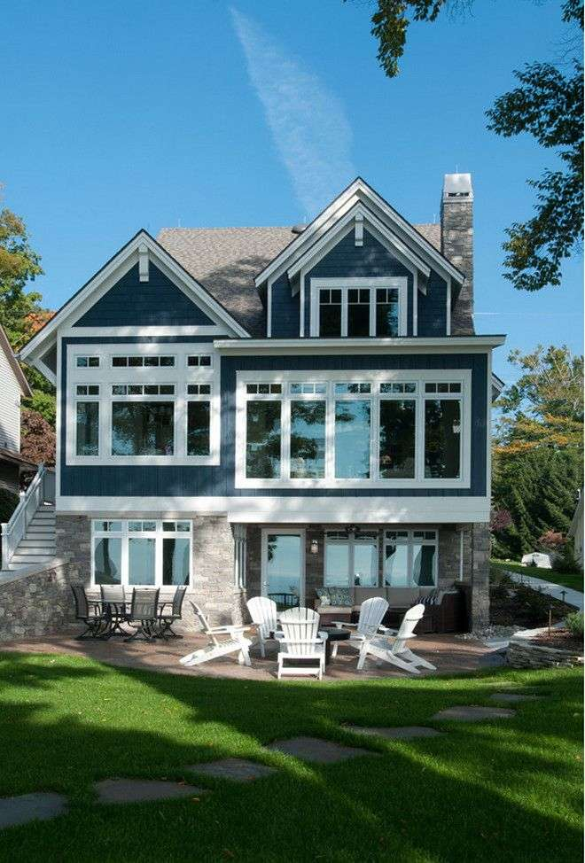Award Winning Waterfront Home Plans Escortsea