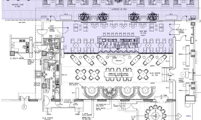 Awesome Bar Plans Layouts Building