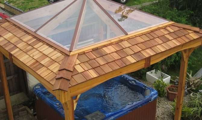 Awesome Hot Tub Roof Building Plans