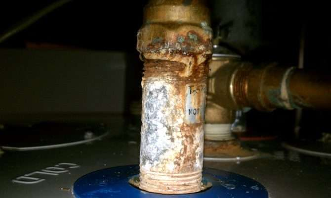 Awesome Hot Water Tank Pipes Building Plans