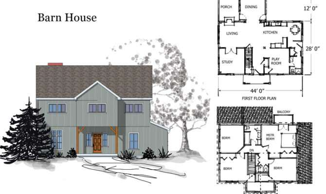 Awesome House Barn Combo Plans Home Building