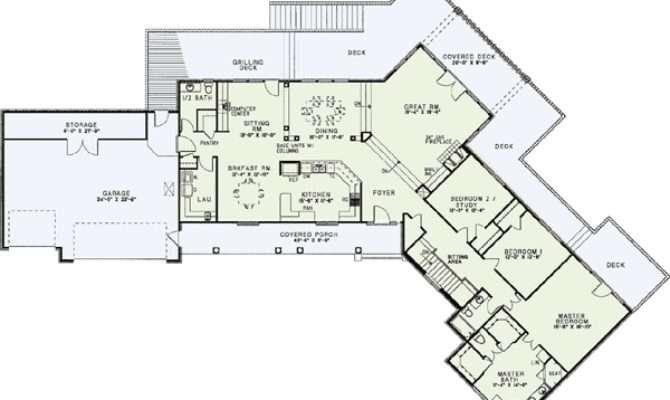 Awesome House Plans Lake