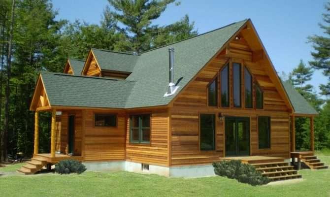 Awesome Impressive Design Contemporary Log Home Plans Interior
