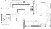 Awesome Kitchen Remodel Design Contemporary Floor Plans Home