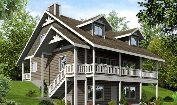 Awesome One Story House Plans Porch