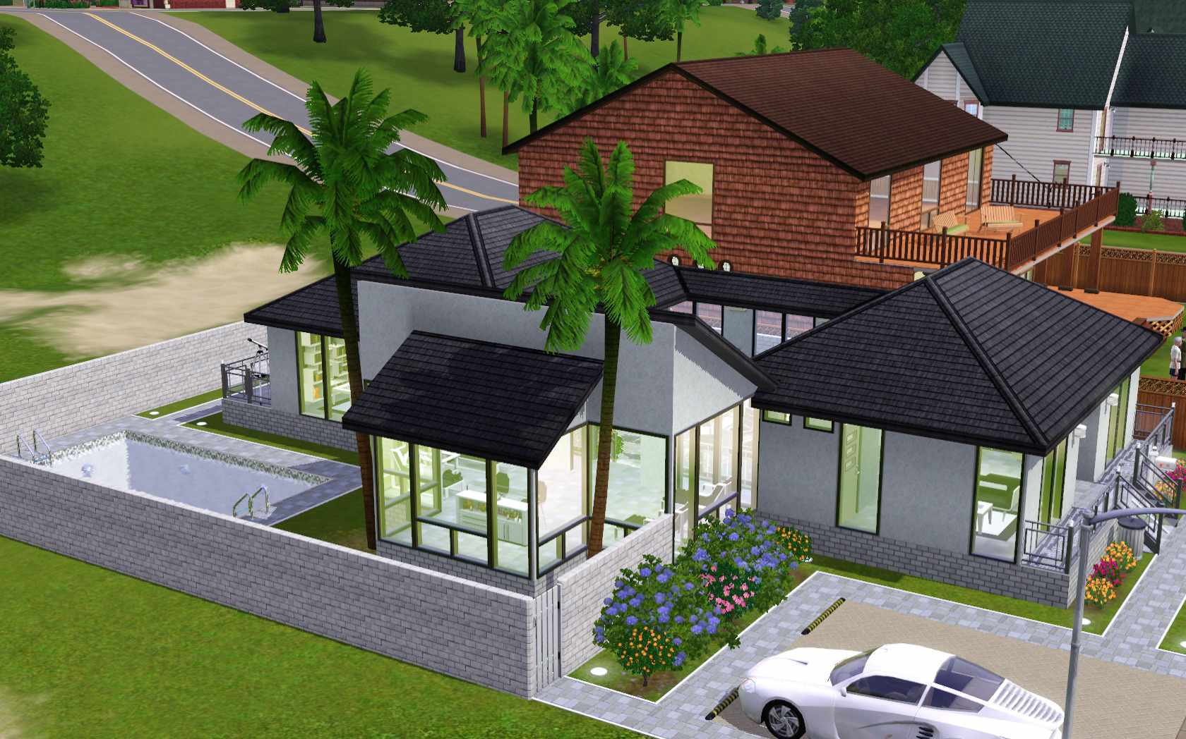 Awesome Sims Houses Pixshark