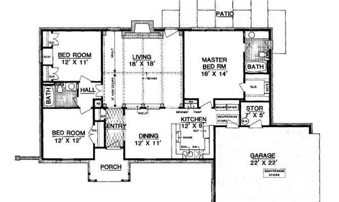 Awesome Square Foot House Plans Ranch Style